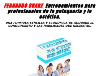 negociosdebelleza.com screenshot
