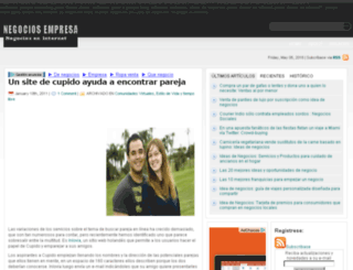 negociosempresa.com screenshot