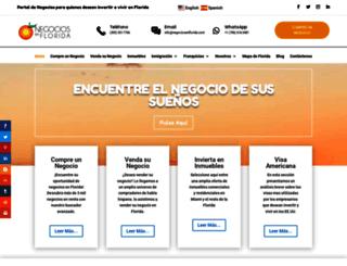 negociosenflorida.com screenshot