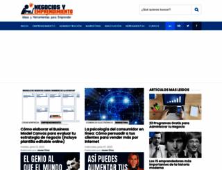 negociosyemprendimiento.blogspot.com screenshot