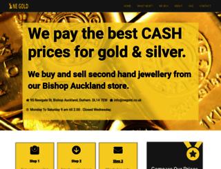 negold.co.uk screenshot