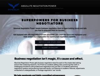negotiationeurope.com screenshot