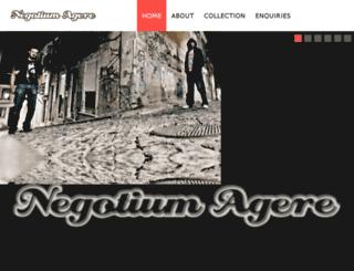 negotiumagere.com screenshot