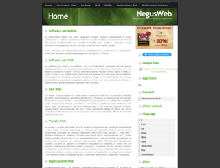 negusweb.it screenshot