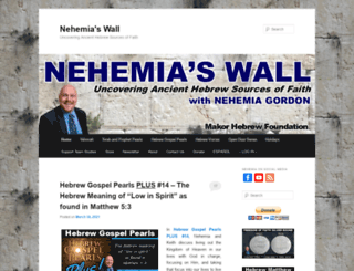 nehemiaswall.com screenshot