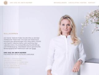 nehrer.com screenshot