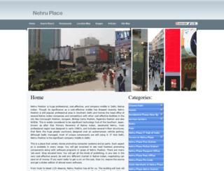 nehruplace.net.in screenshot