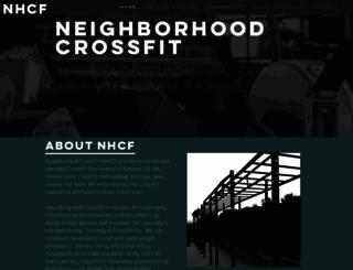 neighborhoodcrossfit.net screenshot