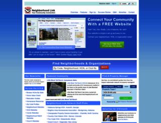 neighborhoodlink.com screenshot