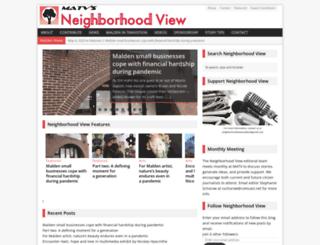 neighborhoodview.wordpress.com screenshot