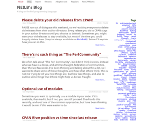 neilb.org screenshot