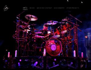 neilpeart.net screenshot