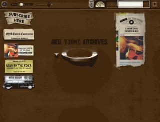 neilyoung.warnerreprise.com screenshot