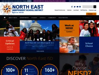 neisd.net screenshot
