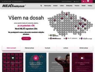 nejcinabytek.cz screenshot