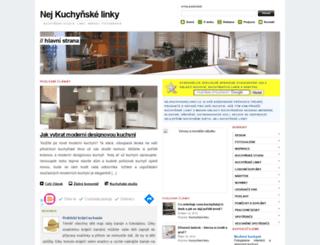 nejkuchynskelinky.cz screenshot