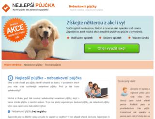 nejlepsi-pujcka.cz screenshot