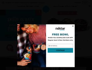nekterjuicebar.com screenshot