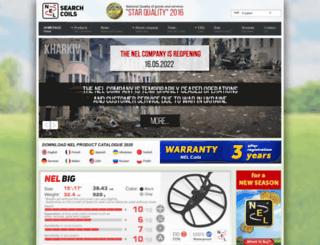 nel-coils.com screenshot