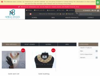 nellabeads.com screenshot