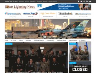 nellisafbnews.com screenshot