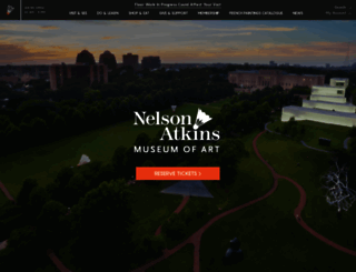 nelson-atkins.org screenshot