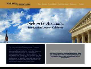 nelson-immigration.us screenshot