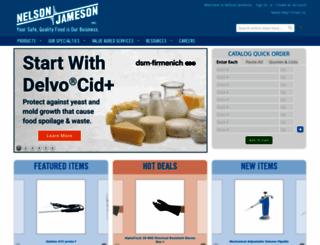 nelsonjameson.com screenshot