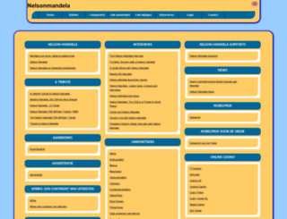 nelsonmandela.allepaginas.nl screenshot