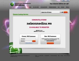 nelsonmedina.ws screenshot