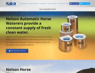 nelsonmfg.com screenshot