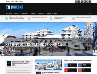nemagreske.com screenshot