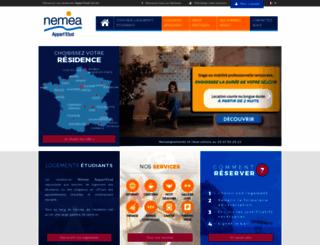 nemea-residence-etudiante.com screenshot