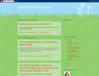 nemesisciencias.blogspot.com screenshot