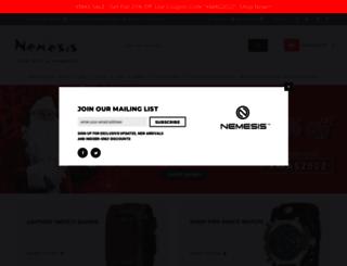 nemesiswatch.com screenshot