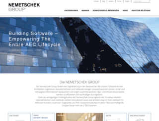nemetschek.net screenshot