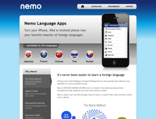 nemoapps.com screenshot
