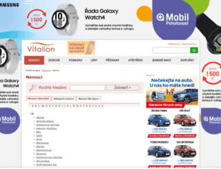 nemoci.vitalion.cz screenshot