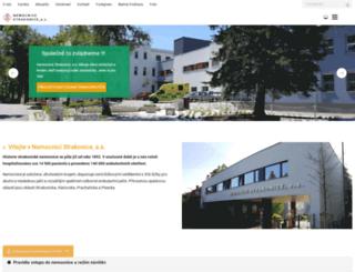 nemocnice-st.cz screenshot