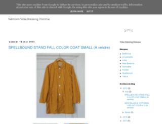nemorin-vide-dressing.blogspot.fr screenshot