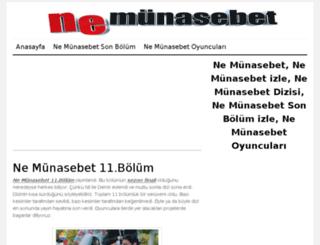 nemunasebet.org screenshot