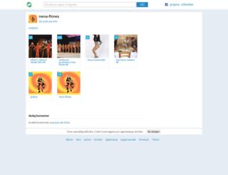 nena-fitnes.moj-album.com screenshot
