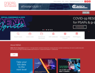 nena.org screenshot