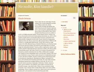 nenedirkimkimdir.blogspot.com screenshot