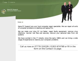 nenepcsupport.co.uk screenshot
