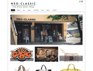neo-classic.co.jp screenshot