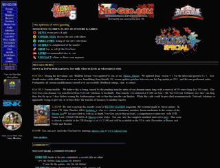 neo-geo.com screenshot