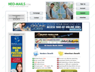 neo-mails.com screenshot