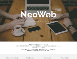 neo-web.net screenshot