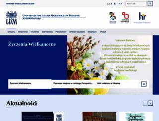 neo.amu.edu.pl screenshot